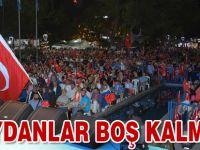 Trabzon'da Demokrasi Nöbeti
