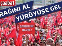 Akçaabat'ta Demokrasi Yürüyüşü Yapılacak.