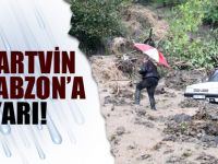 Trabzon'a Kuvvetli Yağış Uyarısı