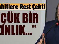 Gümrükçüoğlu: ''Küçük bir azınlık...''