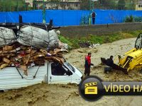 Akçaabat'ta Korku Dolu Anlar Video