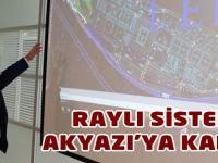 Büyükşehir Belediyesinde raylı sistem toplantısı