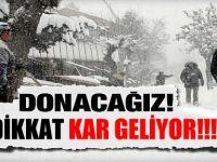 Dikkat Belediye Uyardı, Kar Geliyor