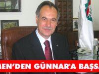 Türkmen'den Günnar'a Taziye Mesajı