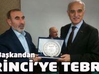 Birincioğlu'na Genel Başkan  Teşekkürü