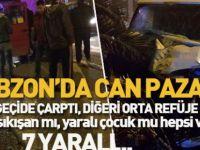 Akçaabat'ta Kaza 7 Yaralı