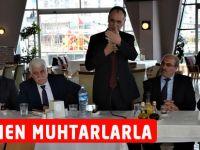 Türkmen Daire başkanı ve Muhtarlarla