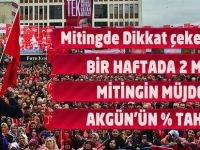 AK Parti Mitinginden Akılda Kalanlar