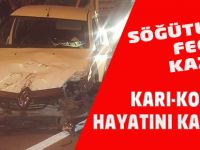 Söğütlü'de Kaza İki Kişi Öldü