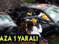 Akçaabat'ta Feci Kaza 1 Yaralı