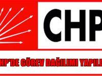 CHP'de Görev Dağılımı