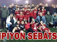 Şampiyon Sebatspor