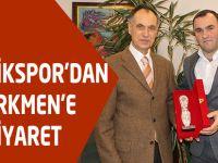 Derecikspor'dan Türkmen'e Ziyaret