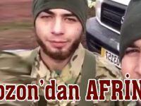 Afrin'de Bir Trabzonlu
