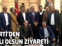 AK Parti'den hayırlı Olsun Ziyareti