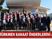 Türkmen Kanaat Önderlerini Ağırladı
