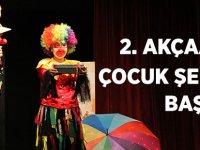 2. Akçaabat Çocuk Tiyatroları Şenliği Başladı