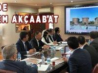 TOKİ'de Akçaabat Gündemli Toplantı.