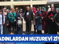 AK Kadınlardan Yaşlılara Ziyaret