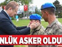 Engelliler Haftasında Askerlik Vazifesini Yerine Getirdiler