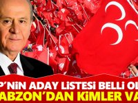 MHP Trabzon Listesi