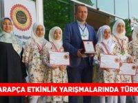 9. Ulusal Arapça Etkinlik Yarışmalarında Türkiye Üçüncülüğü