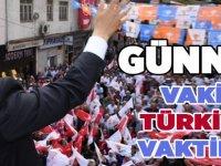 """Günnar """"Vakit Türkiye Vaktidir"""""""