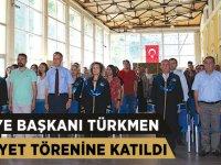 Belediye Başkanı Türkmen Mezuniyet Törenine Katıldı