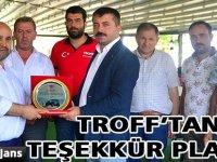 TROFF'tan Teşekkür