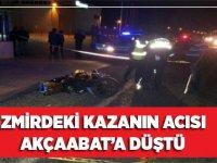 İzmir'deki Kazanın Acısı Akçaabat'a Düştü