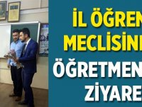 İl Öğrenci Meclisinden Öğretmenlere Ziyaret