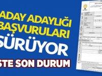 AK Parti'de Son Durum, İşte Aday Adayları