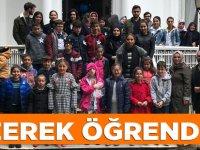 Yıldızlı TOKİ İlkokulu ve Ortaokulu Gezide.