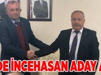MHP Başkan Aday  Adayı Hasan İncehasan
