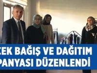 Giyecek Bağış ve Dağıtım Kampanyası Düzenlendi
