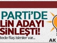 AK Parti'de İsimler Netleşiyor