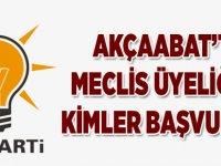 AK Parti'den Meclise Kimler Başvurdu?