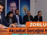 AK Parti Adayı Partililere Konuştu