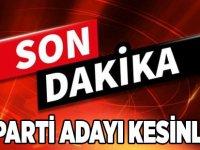 AK Parti Adayı Kesinleşti