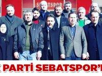 AK Parti  Sebatspor'da