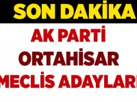 Ortahisar AK Parti meclis Aday Listesi