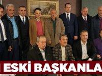 Ekim'e Eski Başkanlardan Destek