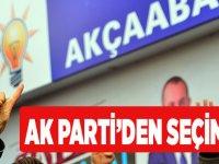 AK Parti'den Seçim Ofisi