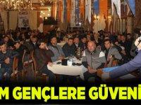 Osman Nuri Ekim, gençlere güveniyor…