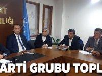 AK Parti Grubu Toplandı