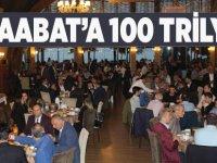 Akçaabat'a 100 Trilyon