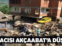 Araklı'daki Selin Acısı Akçaabat'a Düştü