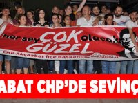 Akçaabat CHP'de İmamoğlu Sevinci
