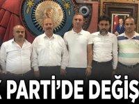 AK PARTİ'DE DEĞİŞİM