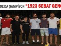"VOLEYBOL'DA ŞAMPIYON ""1923 SEBAT GENÇLİK """